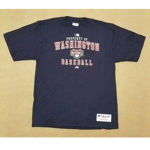 Washington Nationals Navy S/S T-Shirt Men's Large